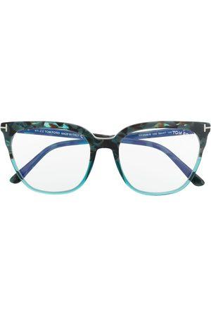 Tom Ford Panelled square-frame glasses