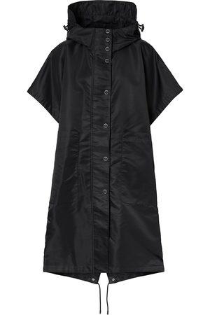 Burberry Horseferry print short-sleeve cape