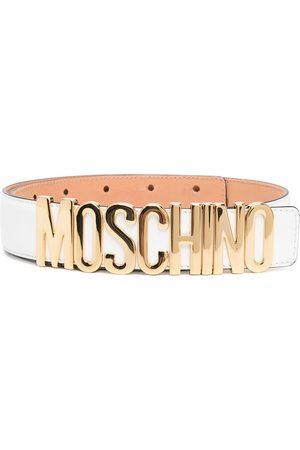 Moschino Logo-lettering adjustable belt