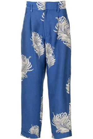 Bed J.W. Ford Floral tailored trousers