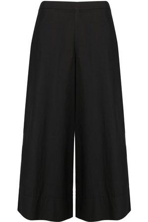 STEFANO MORTARI Wide-leg cropped trousers