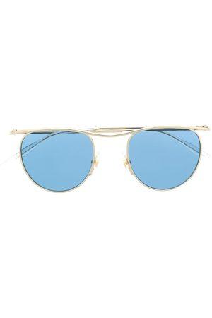 Mont Blanc Round-frame tinted lens sunglasses