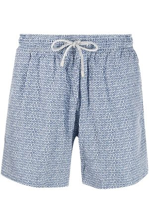BLUEMINT Micro-print drawstring swim shorts