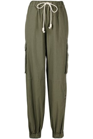 Palm Angels Drawstring cargo trousers