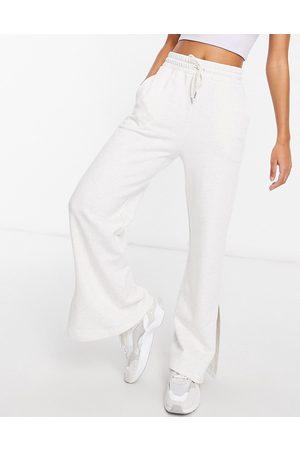 PUMA Ženy Široké nohavice - Wide leg pants in white
