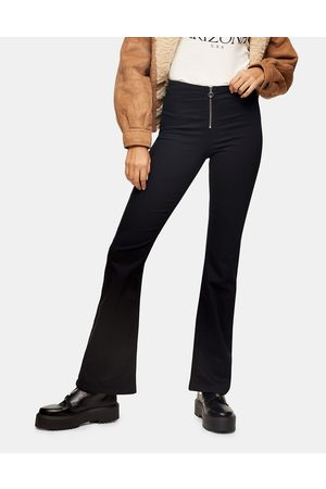 Topshop Bootcut jeans in black