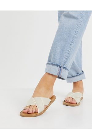 TOMS Ženy Sandály - Viviana sandals in natural-White