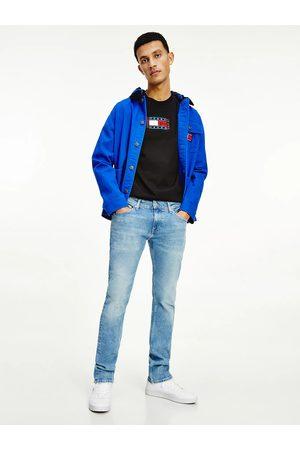 Tommy Jeans Muži Slim - Pánské světle modré džíny SCANTON SLIM
