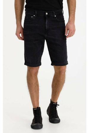 Calvin Klein Pánské černé džínové šortky