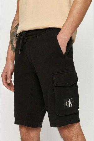 Calvin Klein Muži Šortky - Pánské černé šortky