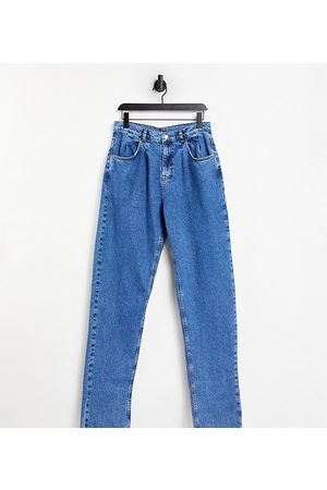 Reclaimed Vintage Rovné nohavice - Inspired '83 unisex relaxed fit jean in vintage blue