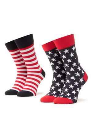 Tommy Hilfiger Sada 2 párů dámských vysokých ponožek