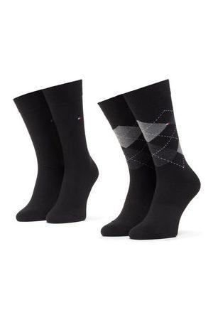 Tommy Hilfiger Sada 2 párů pánských vysokých ponožek