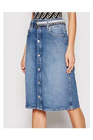 Calvin Klein Ženy Džínové sukně - Džínová sukně