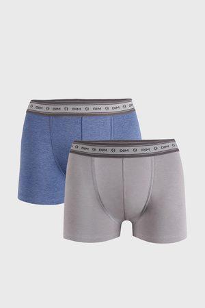 Dim 2 PACK šedomodrých boxerek Ecosmart