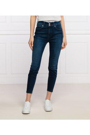 Tommy Hilfiger Ženy Kalhoty - Dámské tmavě modré džíny