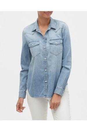 GAP Ženy Džínové košile - Denim Western Košile