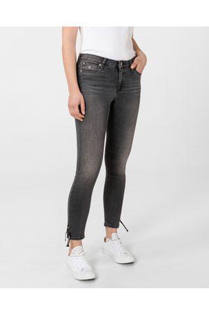 Calvin Klein Dámské černé džíny Ankle