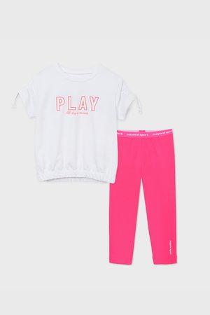 Mayoral Moda Infantil, S:A.U. SET sportovního dívčího trička a legín Play