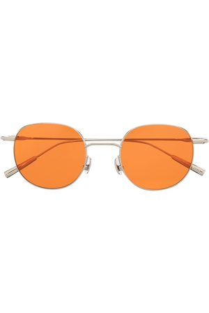 AMBUSH Round-frame orange-tinted sunglasses
