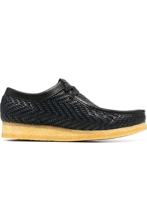 Clarks Muži Polobotky - Woven slip-on trainers