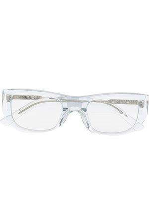 AMBUSH Cortney clear rectangle-frame glasses