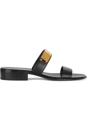 Giuseppe Zanotti Muži Sandály - Ignazio leather sandals