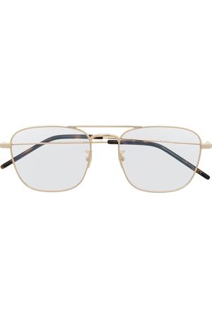 Saint Laurent Square-frame clear glasses