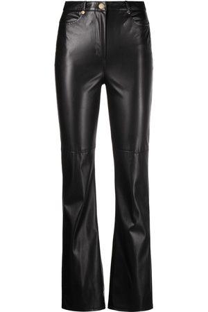 Patrizia Pepe Faux-leather slim trousers