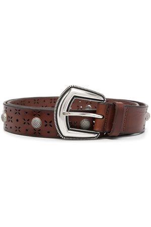 Orciani Ženy Pásky - Studded leather belt