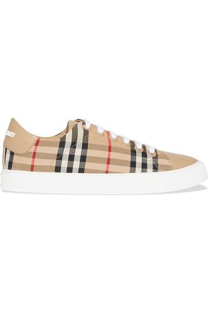 Burberry Vintage Check lace-up sneakers