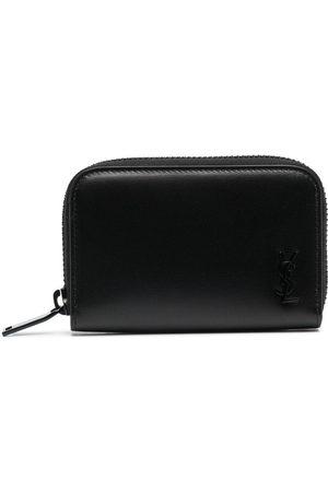 Saint Laurent Zipped leather wallet