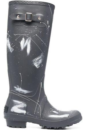 Serafini Ženy Holínky - Paint splatter print wellington boots