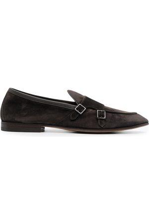 HENDERSON BARACCO Muži Do práce - Almond toe monk strap shoes