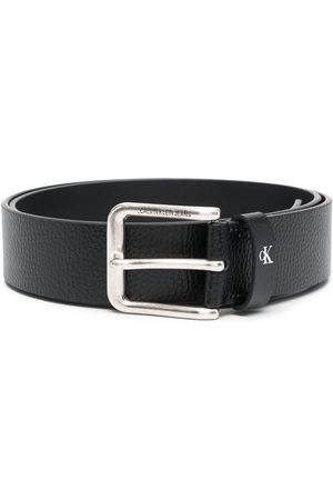 Calvin Klein Muži Pásky - Engraved-logo belt