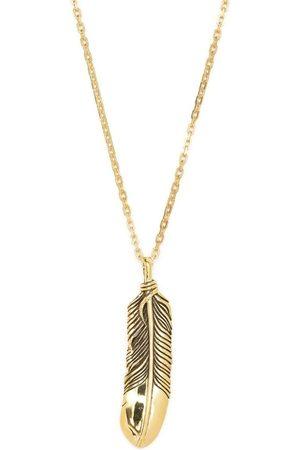 AMBUSH Muži Náhrdelníky - Feather charm necklace