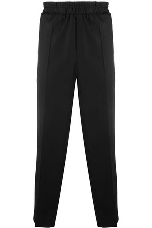Etudes Muži Rovné nohavice - Pressed-crease elasticated-waist trousers