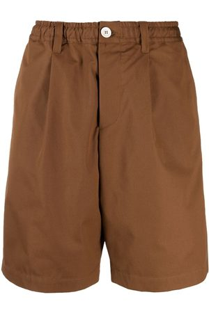 Marni Muži Bermudy - Wide-leg cotton shorts