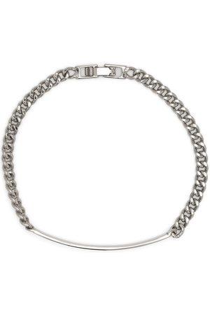 Saint Laurent Ženy Náramky - Logo plaque chain-link bracelet