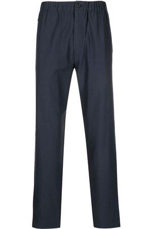 Kenzo Logo-patch straight-leg track pants