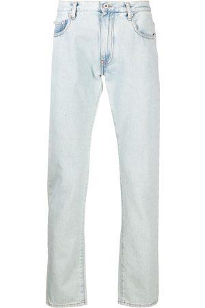 OFF-WHITE Muži Slim - Diagonal stripe slim-fit jeans
