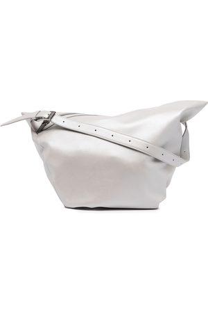 YOHJI YAMAMOTO Ženy Přes rameno - Metallic-tone shoulder bag