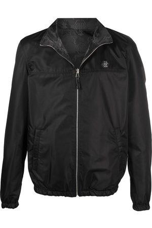 Philipp Plein Muži Bombery - Reversible bomber jacket