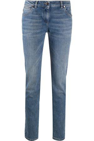 Brunello Cucinelli Ženy S vysokým pasem - High-rise straight leg jeans