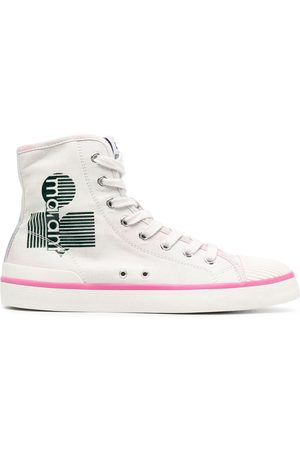 Isabel Marant Logo-print high-top sneakers