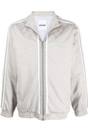 KOCHÉ Muži Bombery - Zipped bomber jacket