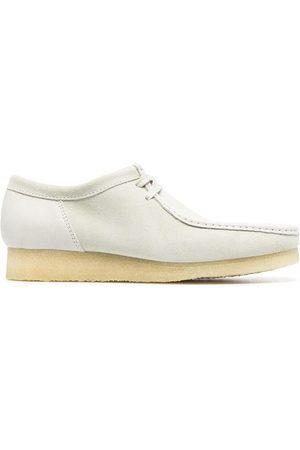 Clarks Muži Nazouváky - Wallabee lace-up suede shoes