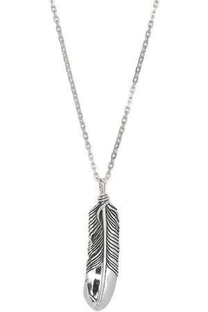 AMBUSH Feather charm necklace