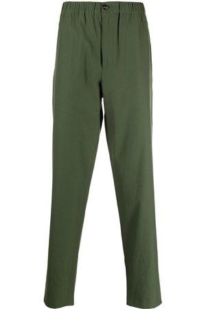 Kenzo Muži Rovné nohavice - K-logo cotton straight-leg trousers