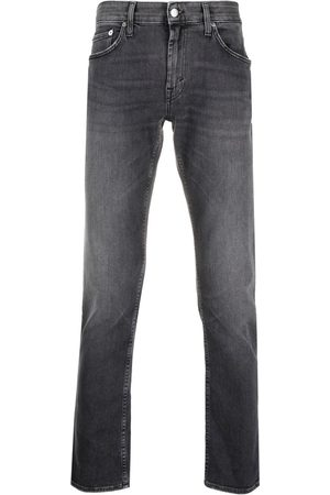 DEPARTMENT 5 Mid-rise faded straight-leg jeans